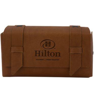 Baxter Leather Dopp Kit