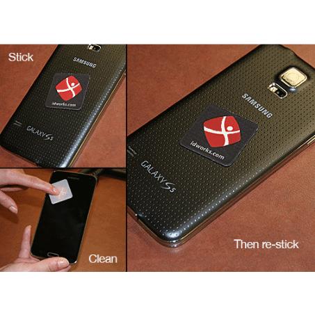 Digiclean Microfiber Phone Stickers
