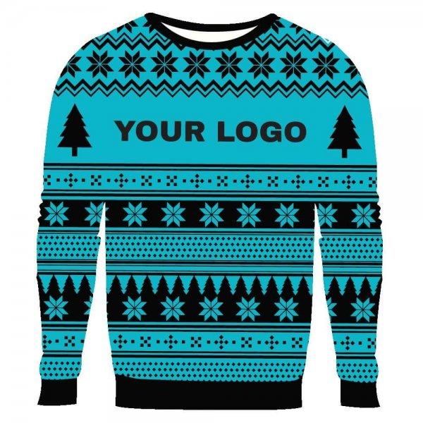Custom USA Made Ugly Christmas Sweater