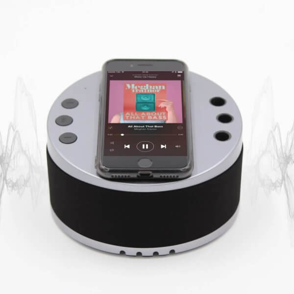 LYNQ Hub - with built-in 360-sound bluetooth speaker