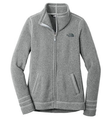 The North Face Ladies' Sweaterfleece - Urban Grey Heather