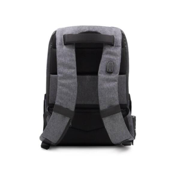 Phantom backpack - Back view with shoulder straps and hidden back pocket