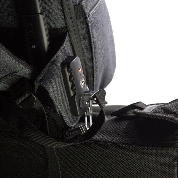Phantom - Locked to Trolly with built-in TSA Lock