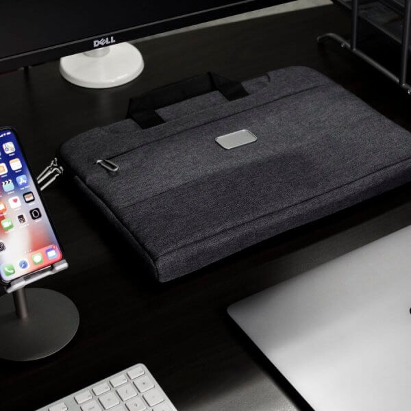 Specter Laptop Brief with MacBook Pro and iPhone