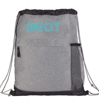 Heather-Melange-Drawstring-Bag-Front