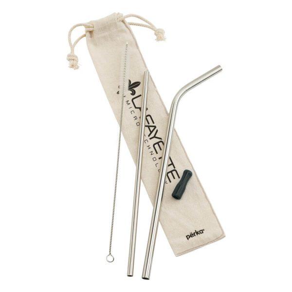 Perka-Stainless Straw Set