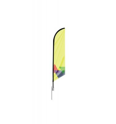 Feather Angled Flag - 14 Foot