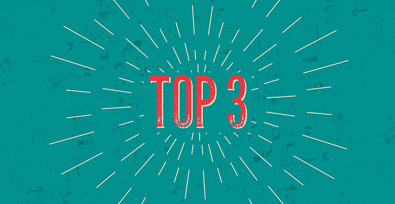 Top 3 image header