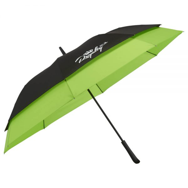 Expanding Umbrella-black-lime