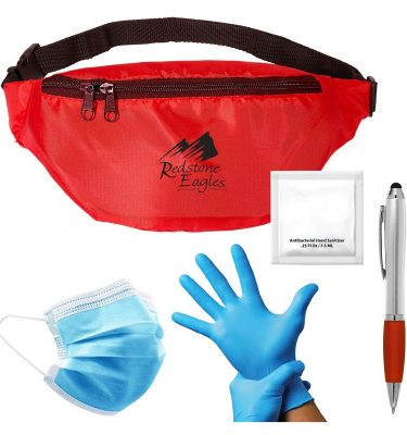 On The Go Safety Kit - RED