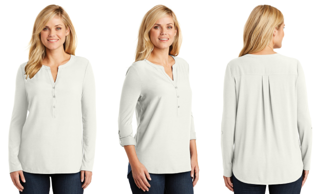 Port Authority® Concept Henley Tunic